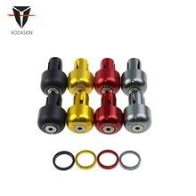 KODASKIN Motorcycle CNC Aluminum Handle Bar End Plug Hand Block for DUCATI SCRAMBLER цены