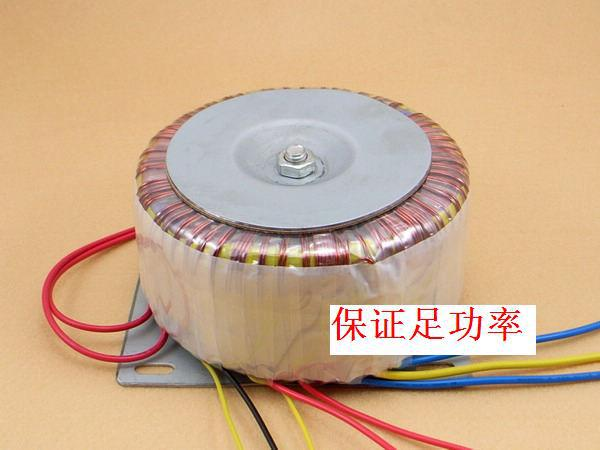 Toroidal 400W toroidal transformer dual 24V Dual 12V 10-line multi-output full copper foot power
