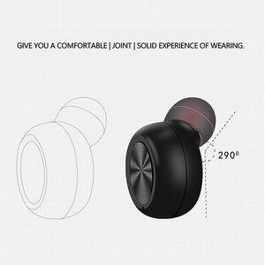 Image 5 - Kebidu auriculares inalámbricos por Bluetooth, Mini auriculares invisibles, auriculares de negocios con cancelación de ruido y micrófono para teléfono Android