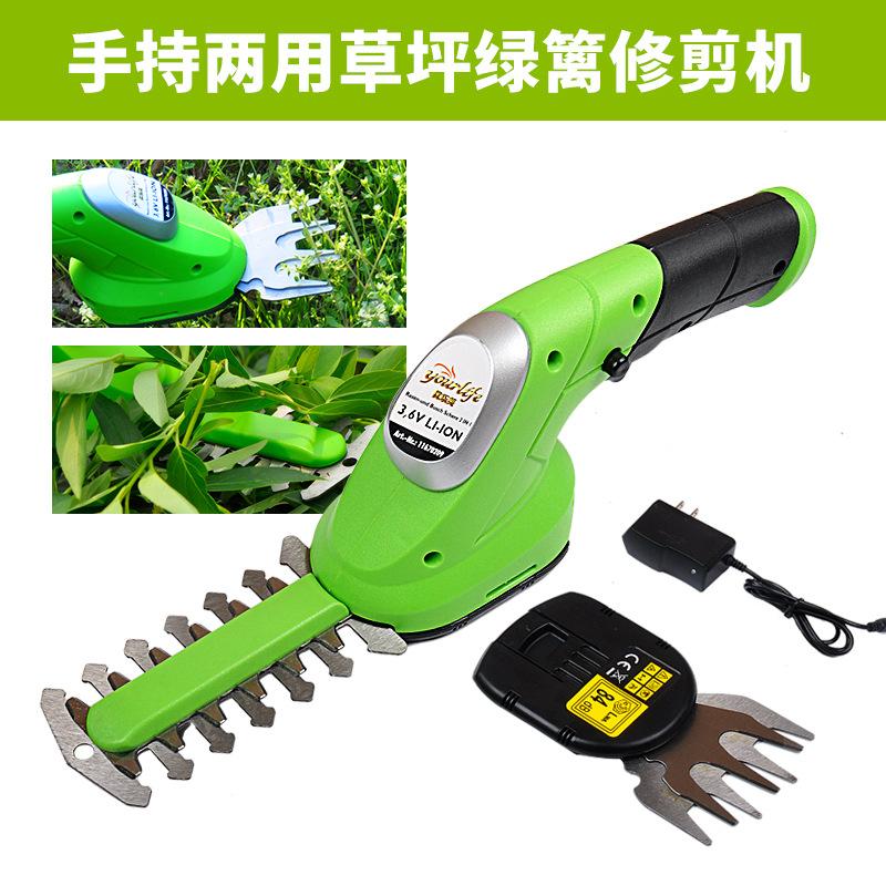 GX Diffuser Garden Tools 3.6V Grass Cutter Pruning Tools Brush Cutter Pruning Shears Grass Hedge Trimmer lawn Mower 2 in 1 hight quality 2 in 1 combo lawn mower li ion rechargeable hedge trimmer grass cutter cordless east garden power tool 3 colors