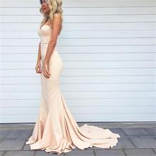 Simple Sweetheart Mermaid Sexy Junior Cheap Long Special Occasion Dress for Wedding 2017 Elegant Bridesmaid Dresses BN128
