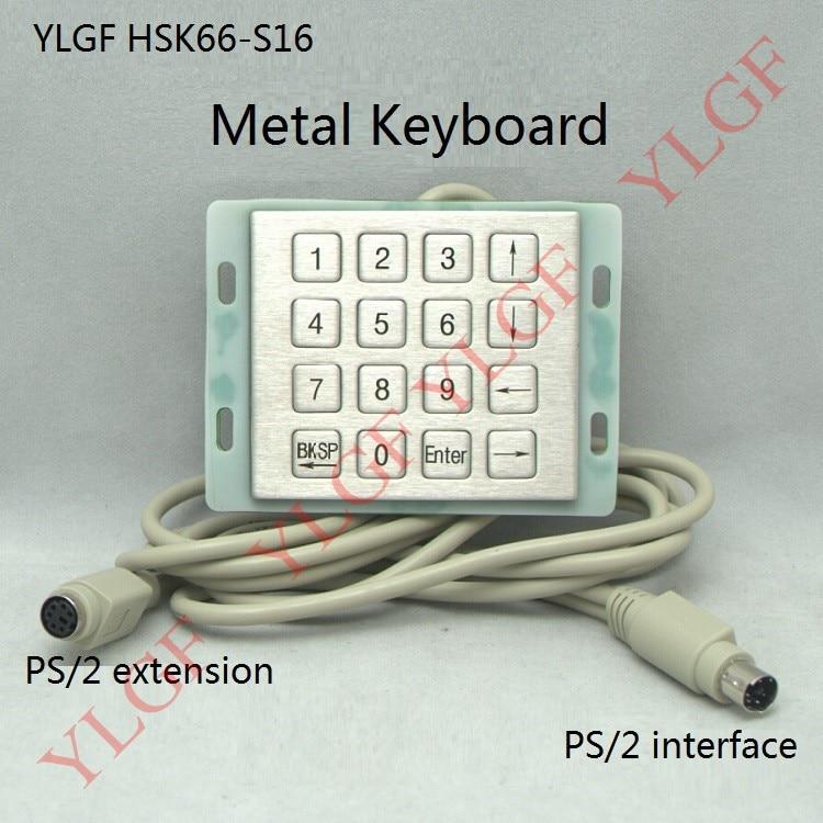 Metal Keyboard Ylgf Ps 2 Super Mini Embedded Industrial Key Waterproof Ip65 Dust Anti Violence Stainless Steel Ring jai prakash embedded metal nanoparticles by ion beam mixing