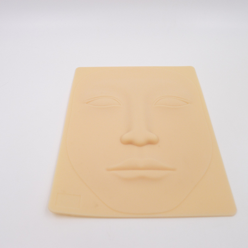 Face tattoo practice blank silicone fake skin tattoo for Practice skin for tattooing