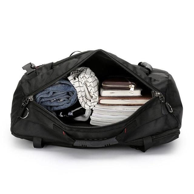 MAGIC UNION 20 inch Men Backpack Travel Bag Large Capacity Versatile Utility Mountaineering Multifunctional Waterproof Backpacks 3