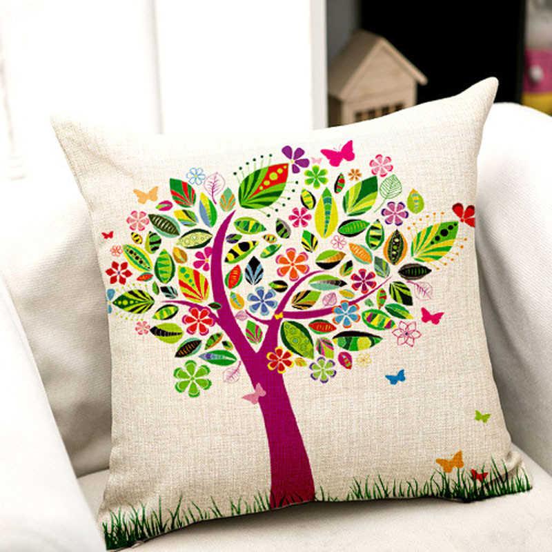 Image 5 - Привлекательные цветы, печать на ткани накидка для подушек супер ткань Чехлы для подушек пледы Наволочка на подушку-in Наволочка from Дом и животные