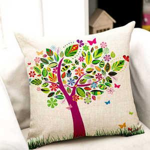 Image 5 - Aantrekkelijke Bloemen Gedrukt Patroon Kussenslopen Cover Super Stof Thuis Bed Decoratieve Throw Beddengoed Kussensloop