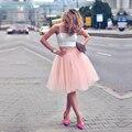 Красивый Белый и Розовый Дешевые Homecoming Платья Короткие 2 Шт. пром Платья Бретельках Платье de Festa Курто Партии Девушки платье