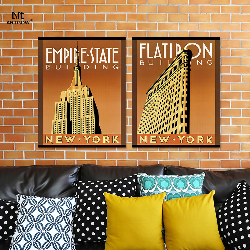 Modern NEW YORK City pictures decoration Empire State Building ...