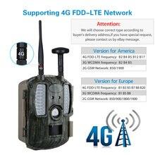 GPS 940NM 사냥 카메라 사진 사냥을위한 야간 시력 무선 야외 보안 와일드 카메라 FTP SMS 제어