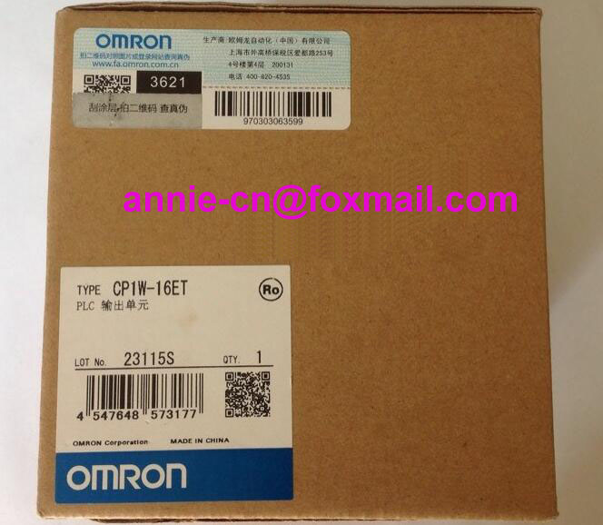 100% New and original CP1W-16ET OMRON  PLC CONTROLLER   OUTPUT UNIT 100% new and original cp1w 40edr omron plc controller input output unit