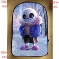 17inch undertale backpack double layer for boy and girl children School bags men women custom made