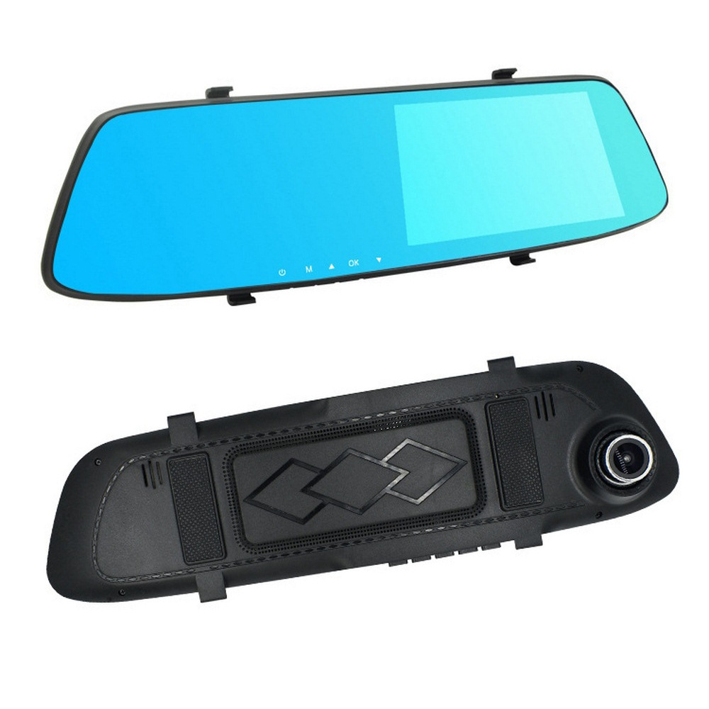Image 5 - 5.0 Inch 1080P HD Car DVR Mirror with Rear View Camera Night Vision Auto Driving Video Recorder Car Dash Camera-in DVR/Dash Camera from Automobiles & Motorcycles