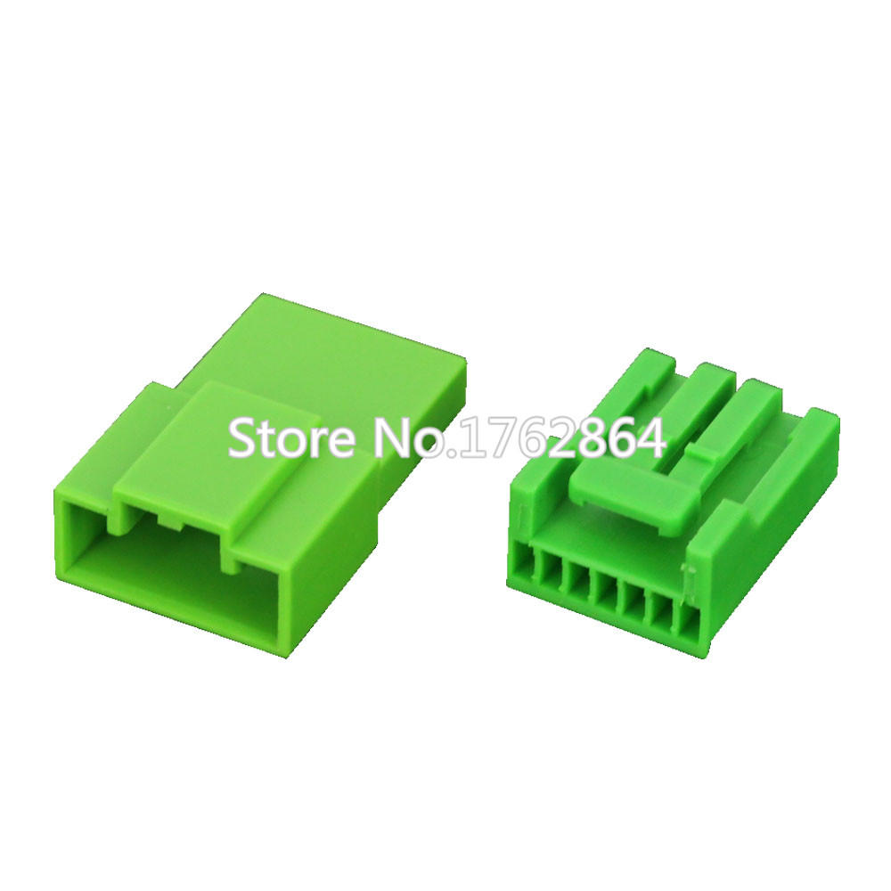 small resolution of 7 pin series automotive instrument wiring harness plug green car connector with terminal dj7071a 1 2 11 21 7p in connectors from lights lighting on