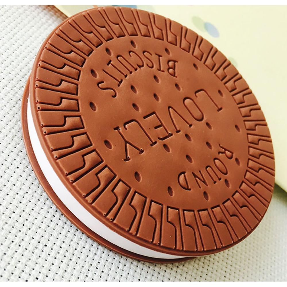 Kreatív írószerek Kényelmes Notebook Csokoládé Kekszek Memo Pad - Jegyzettömbök és füzetek