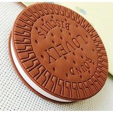 Хорошее Творческий канцелярские удобный Тетрадь шоколадное печенье Блокнот офис школы подарок принадлежности блокнот