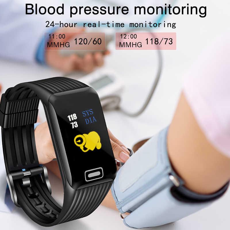 BANGWEI 2019 ใหม่สมาร์ทนาฬิกาผู้ชายผู้หญิงฟิตเนส Tracker Heart Rate Monitor Smartwatch กีฬานาฬิกาสำหรับ ios android
