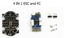 Kingkong 90GT F3 flight controller +4 Brushless ESCs 4in1 Micro FPV Racing Drone