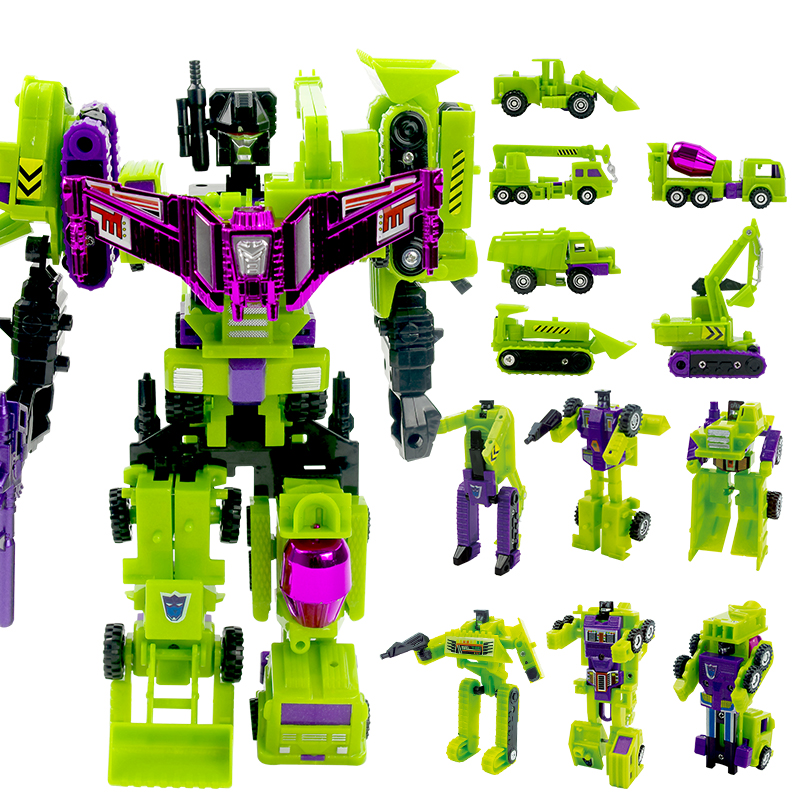 ThinkEasy 5 IN 1 With Package Transformation Robot Cars and prime Toys Action Figures Classic Toys For Kids Christmas Gifts 5 in 1 assembly toys transformation robot dinosaur rangers megazord action figures kids christmas gifts