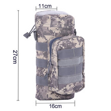 New Multi Camouflage Pocket Waist Hung Large Large Water Bottle 5 Colors Kettle Bag Tactical Bag Outdoor 5L Capacity