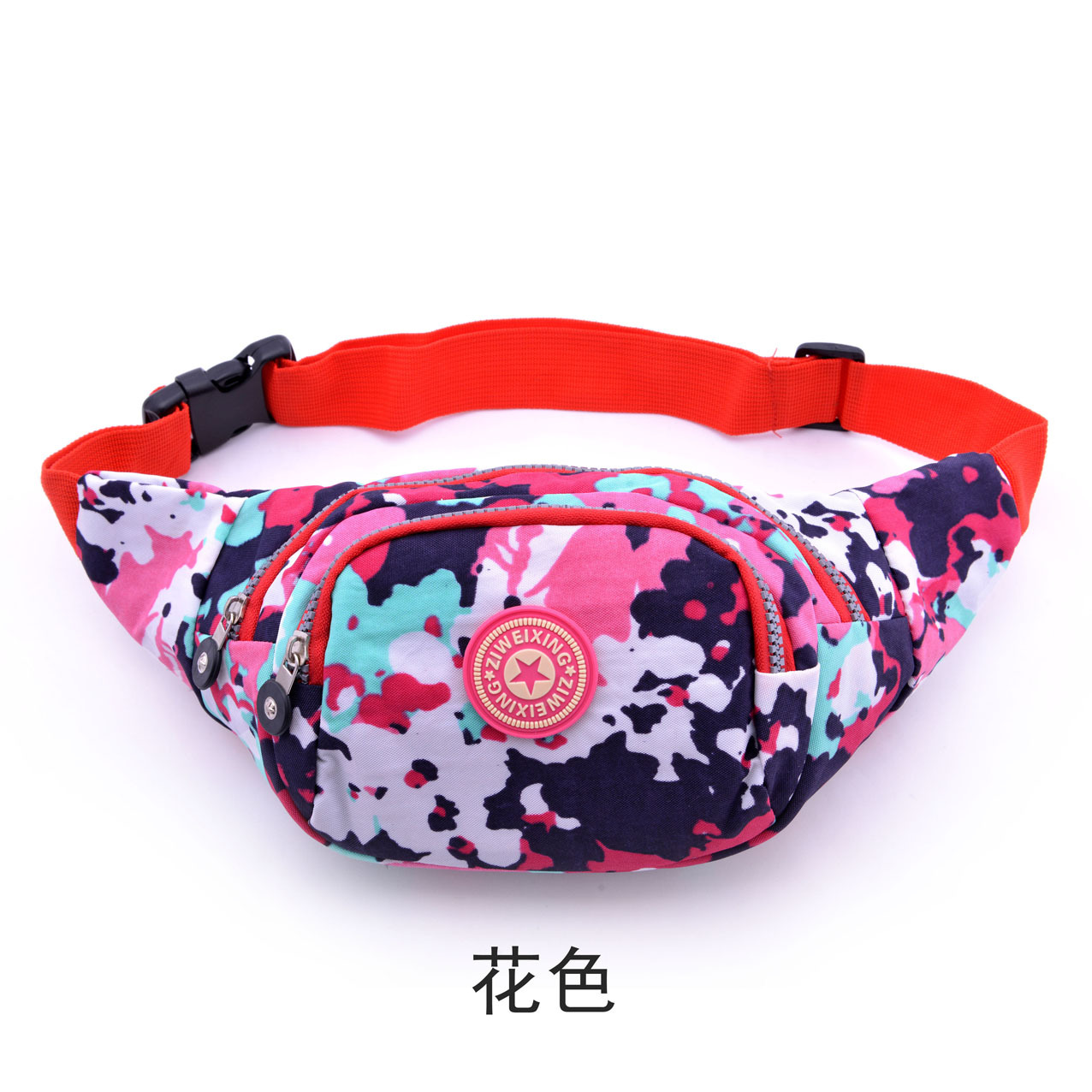 Waterwash Flower Cloth for Men and Women with Colorful Flowers Sports and Leisure Bags Six Colors in Top Handle Bags from Luggage Bags