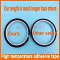 5 8 10 15 20 25mm x 33m Dark brown Tawny Heat Resistant High Temperature Polyimide Adhesive Tape