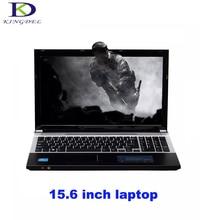 Hot selling windows 7 15.6 Inch laptop Computer Celeron J1900 Intel HD Graphics 2.0GHz Nettop 4G/8G RAM 500G/1TB HDD Camera