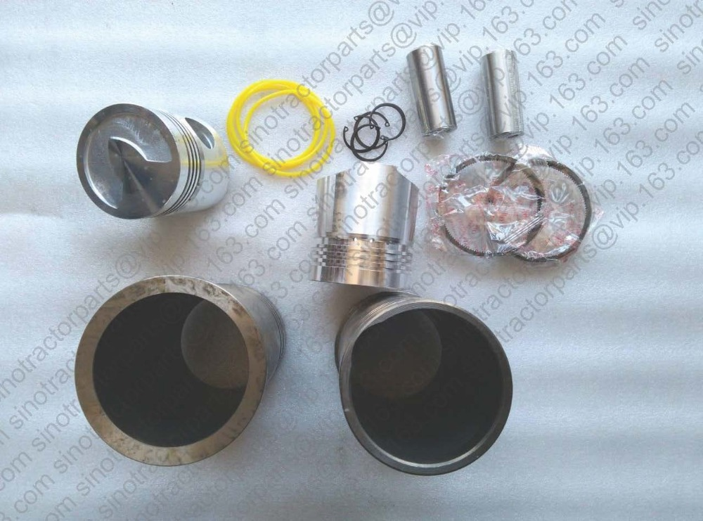 ФОТО Taishan KAMA TS300 TS354 with FD2100T( swirl chamber)the piston, piston pin, piston rings, circlip, liner and water sealing ring