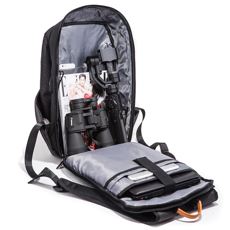 Anti voleur USB sac à dos sac à dos pour ordinateur portable pour femmes hommes école sac à dos sac pour adolescents garçons mâle voyage Mochila Feminina - 4