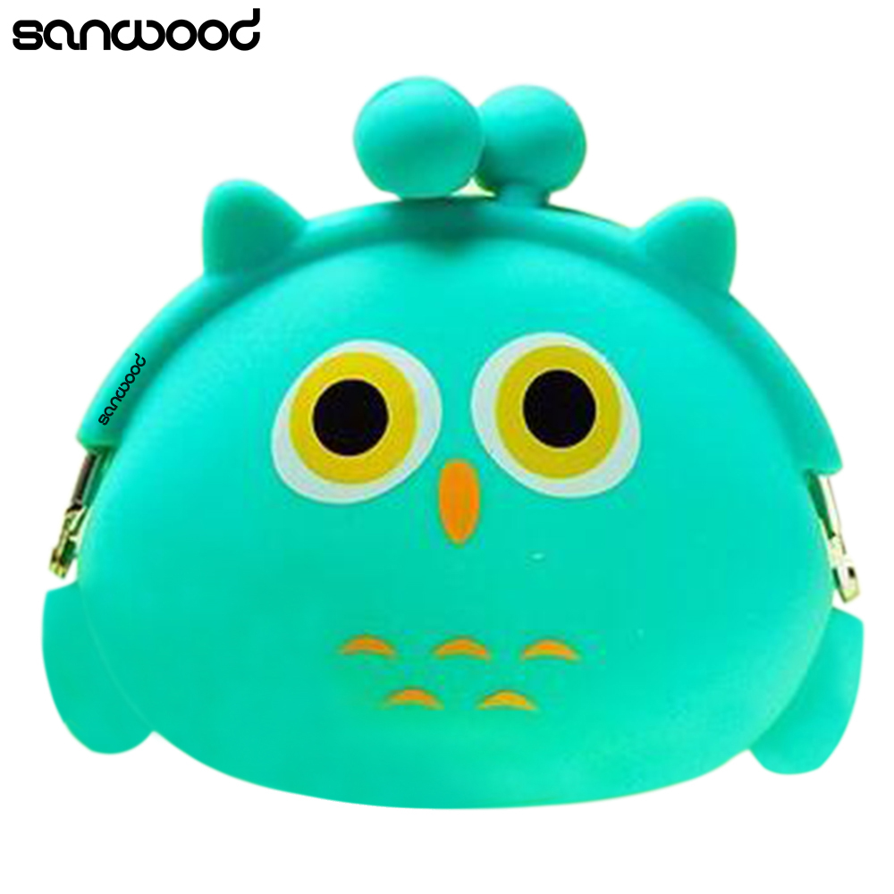 Coin Purses Women Purse for Coins Children's Wallet Kids Wallets 2016 Kawaii Xmas Birthday Gift Cartoon Animal Silicone Jelly anime cartoon wallets bifold game pokemon go pikachu wallet for teenager women men pocket monster purse coin purses holders
