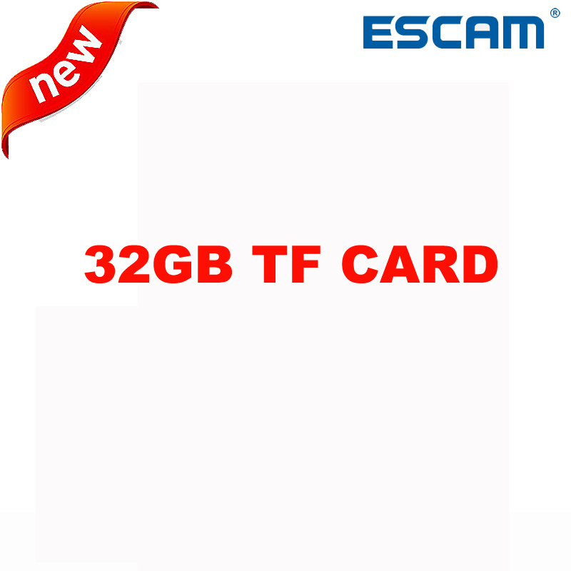 32GB TF CARD For ESCAM QF002/QF003/G02/QP180/Q6 Wireless IP Camera WIFI Indoor Infrared Security Surveillance CCTV Camera select indoor five 852708 003 размер 4