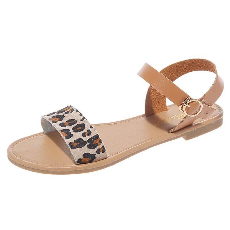 Summer beach flat sandals women open