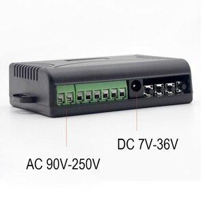 Image 2 - KTNNKG Módulo de automatización del hogar, interruptor Wifi de 433 MHz, 10A, 2 canales, receptor inalámbrico y controles remoto RF Ev5127 433 MHz