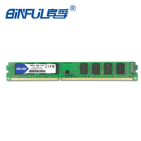 Binful Original New Brand DDR3 PC3 10600 2GB 1333mhz For Desktop RAM Memory 240pin Compatible With