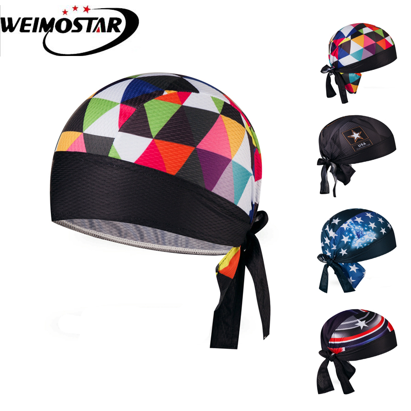 Weimostar Cycling Cap Bike Hat Ciclismo Bicicleta Pirate Headband Cycling Cap Bicycle Helmet Wear Cycling Hat