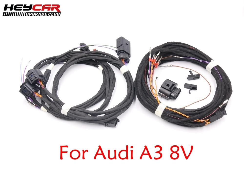 Lato Assist Sistema Di Cambio Di Corsia Installare Aggiornamento Kit Di Aggiornamento Del Cavo Di Legare Harness Per Audi A3 8 V