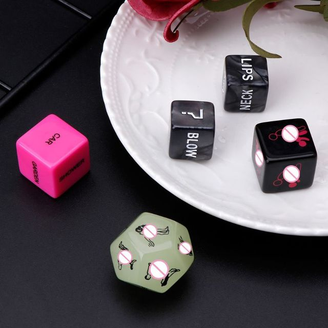 5pcs Sex Dice Fun Adult Erotic Love Sexy Posture Couple Lovers Humour Game Toy Novelty Party Gift 2