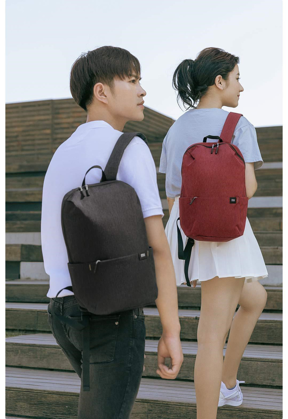 Original Xiaomi Mi Backpack 10L Bag Urban Leisure Sports Chest Pack Bags Men Women Small Size Shoulder Unisex Rucksack bolsa (13)