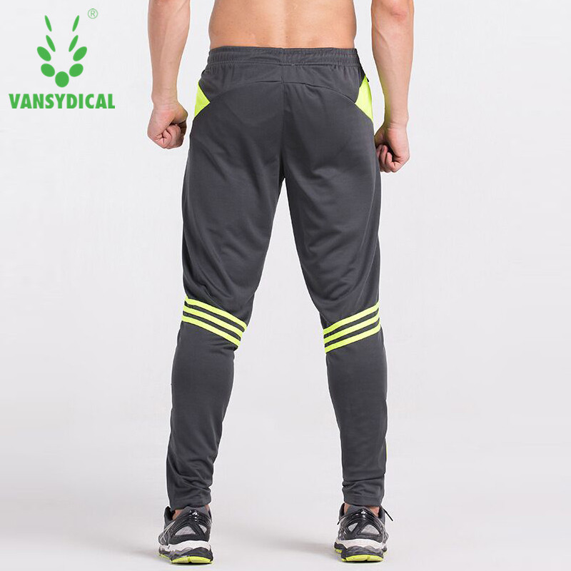 Vansydical Mens Running Clothes Jogging Body building Fitness TrouserRunning Pants Basketballs Gym Sweatpants Sports Bottoms sports jogging pants with zip
