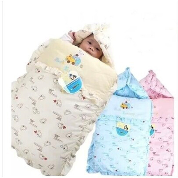new winter baby sleeping bag as envelope for newborns baby. Black Bedroom Furniture Sets. Home Design Ideas