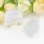 5 Sets 1 Lote Joyería Nupcial Establece Oval Anillo de piedra de Luna Colgante de Collar de Fuego Conjunto Plateada Siver Amor Joyería de la Boda