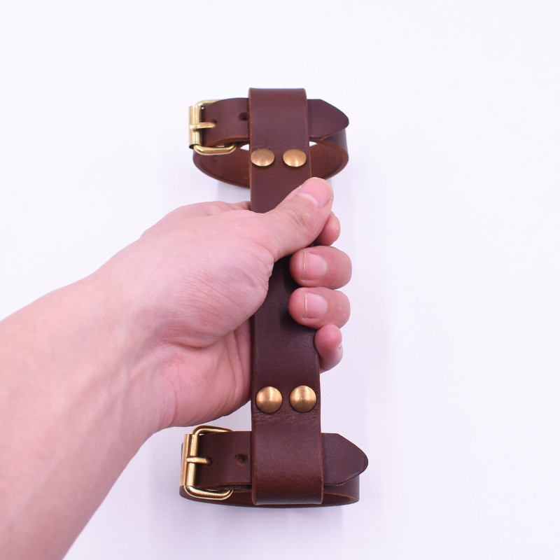TWTOPSE Leather Bicycle Carry Handle Tape Strap Belt For Brompton Folding Bike Handlebar Tape Vintage Durable brompton stickers