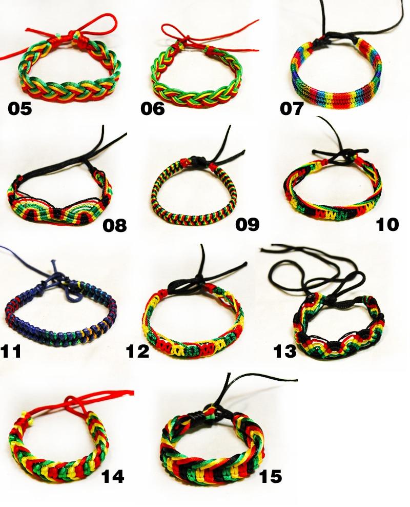 beads bangles in top fashion Hip pop rock style Jamaica rasta bangles,  wooden beads banglesda Braccialetti infilati su AliExpress.com