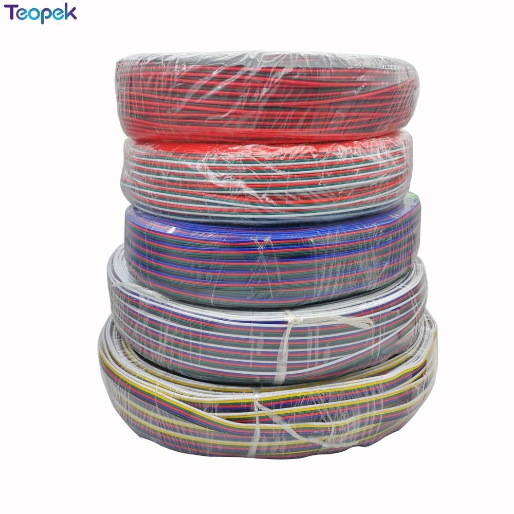 2pin 3pin 4pin 5pin 6pin провод кабель-удлинитель 22AWG светодиодный разъем для WS2812 WS2811 RGB/RGBW/RGB CCT 5050 3528 Светодиодные ленты