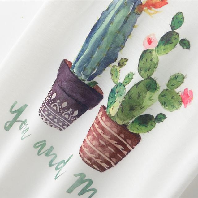 Summer Cactus T-shirt