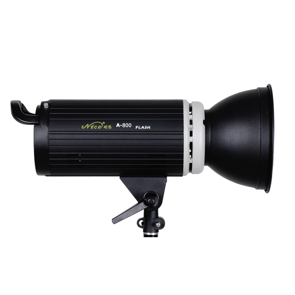 NiceFoto a-800w professional studio lights flash light photography light equipment single lamp dicens ld 200 u2 studio lights 200w flash lamp flash light photography light flash light