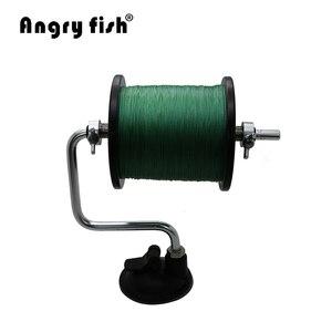 Image 2 - Angryfish المحمولة الألومنيوم الصيد خط اللفاف بكرة بكرة نظام التخزين المؤقت معالجة أدوات أداة الالتصاق الكارب الصيد البحري