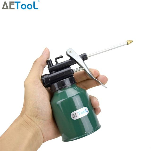 AETool 250ml Paint Spray Gun Oil Pump Cans Oiler Hose Grease Machine For Lubricating Airbrush Tools Lubricator Repair Diy Kit