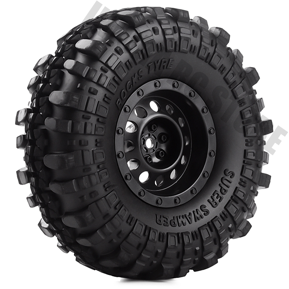 4Pcs/Set 1.9inch Rock Terrain Truck Tires&1.9