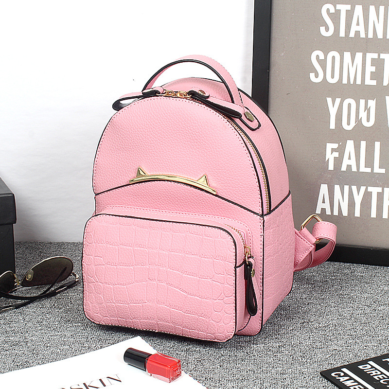 2016 New Backpack Women PU Leather Bag Women Bag Casual Backpack Mochila Feminina Schoolbags For Teenagers