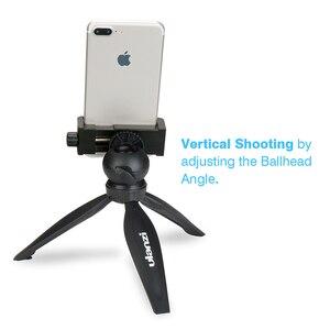 Image 2 - Ulanzi Mini Telefon Stativ Tabletop Montieren Smartphone Clip Halter Stehen w Abnehmbare Kugelkopf für iPhone X/8/7 Plus Huawei xiaomi